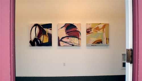 Work by Timothy Scott Dalbow greets you at the door